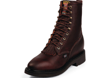 Justin Work Boots 761 BRIAR PITSTOP LACE UP