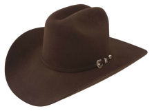 Resistol Cowboy Hat City Limits Chocolate