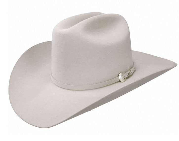 Resistol Cowboy Hat Midnight Silver Belly