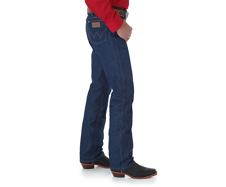 Wrangler Cowboy Cut Rigid Slim Fit Jean 0936DEN