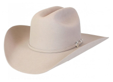 Stetson Heritage Cowboy Hat Silver Belly